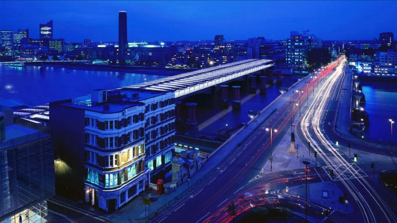 blackfriars night shot