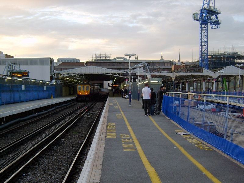 Blackfriars station before re-build by Nicholas Hair