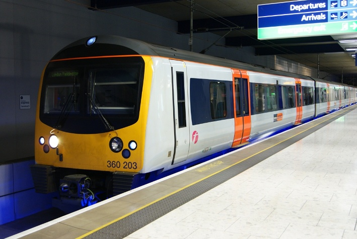 Heathrow express disrupted by industrial action rail image 1 sciox Choice Image