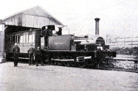 1909 Nabb Gill loco on  The Ratty in 1909 by phil marsh