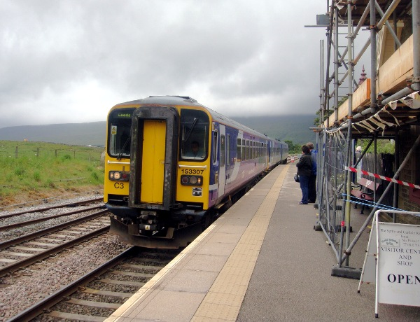 Ribblehead station looking north copyright Phil Marsh