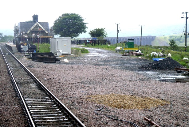 Ribblehead station yard to be redeveloped copyright Phil Marsh