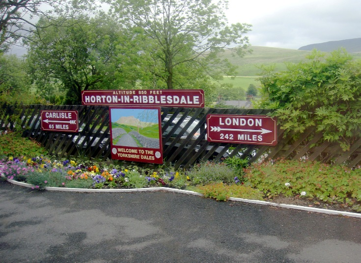 Horton in Ribblesdale station copyright Phil Marsh