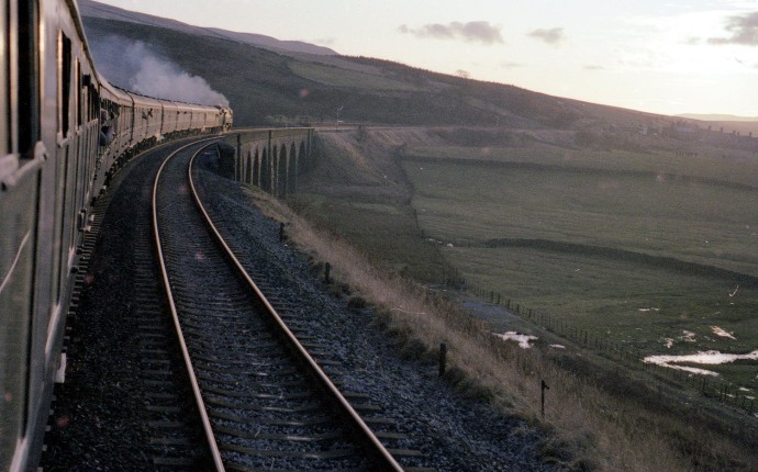 Steam on the Settle Carlisle railway copyright Phil Marsh