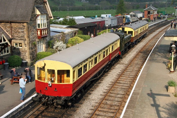 Llangollen Pannier auto sandwich at Carrog