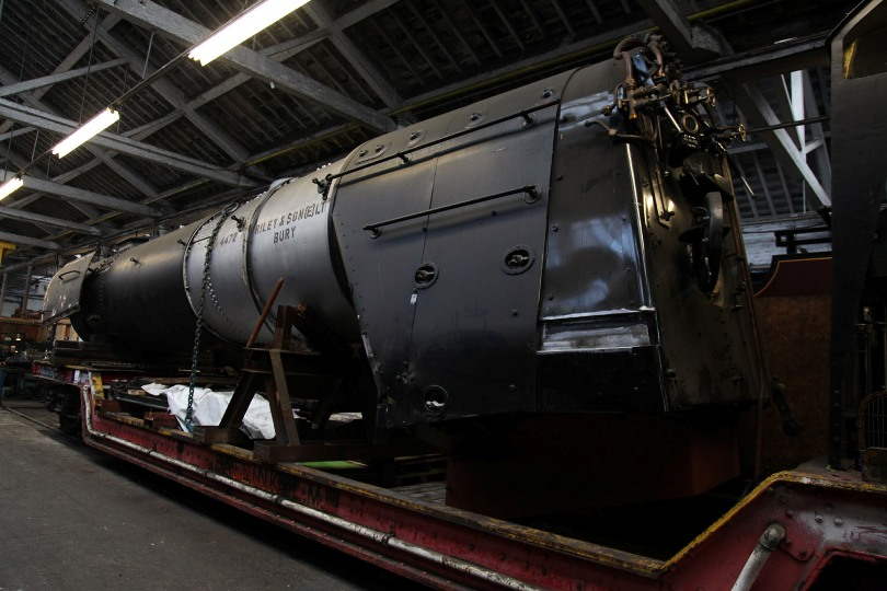 scotsman under repair in December 2011 by Phil Marsh