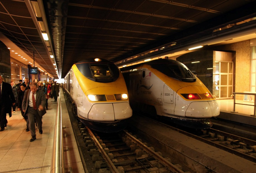 brussels end of the line for eurostar trains phil marsh