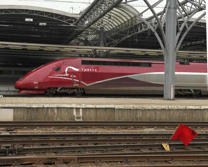 brussels thalys train by phil marsh