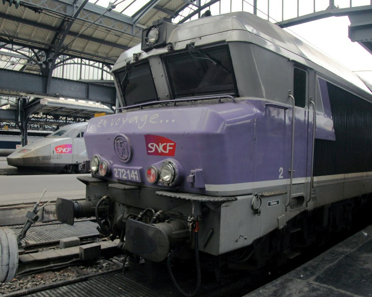 old and new trains in paris phil marsh
