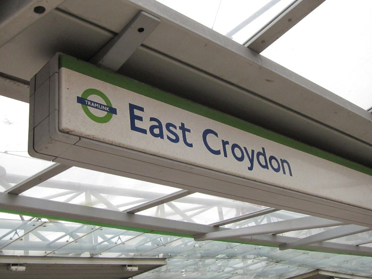 east croydon tramlink station phil marsh