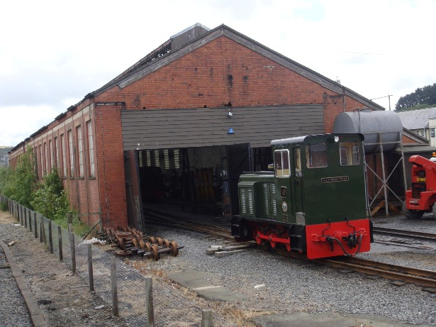 VoR loco shed Phil Marsh