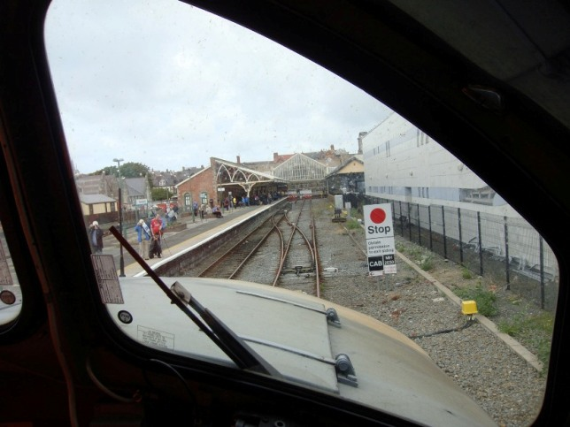 Aberystwyth station drivers view Phil Marsh