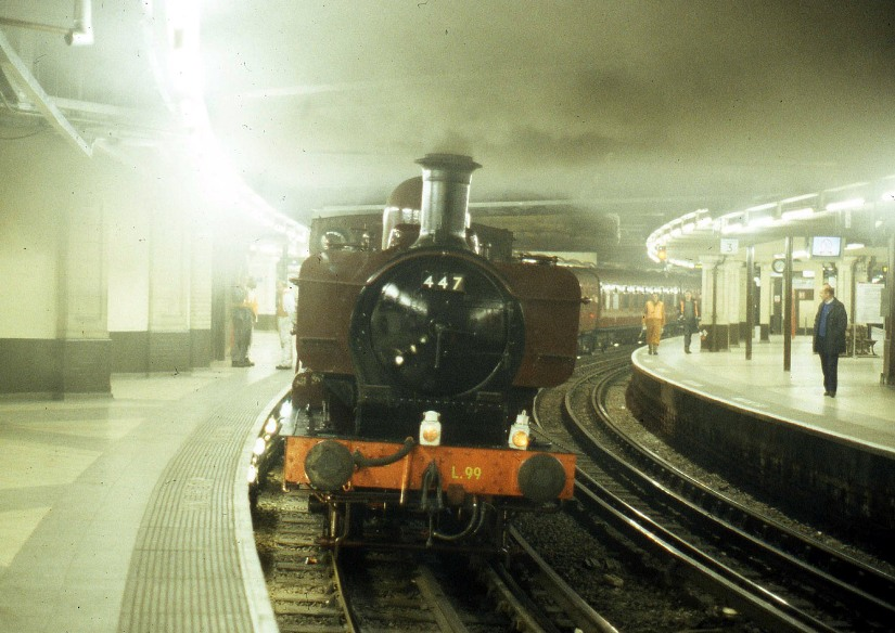 1993 underground steam on at baker street Phil Marsh