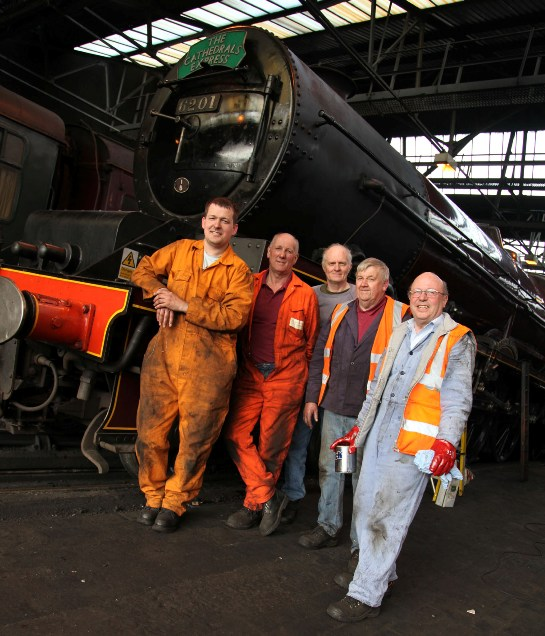 The 6201 team and engine by Phil Marsh