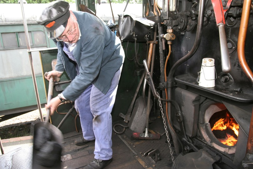 Phil Marsh on the Severn Valley Railway