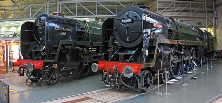 The first and last Standards meet at the NRM. Paul Bickerdyke.
