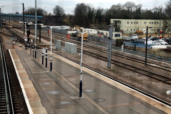 Works start on new platforms at Peterborough by Phil Marsh