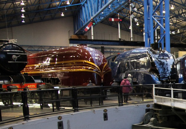 streamlined record breakers at the NRM by Phil Marsh