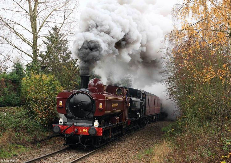 Vintage trains sold out pannier tank excursion from November 2011