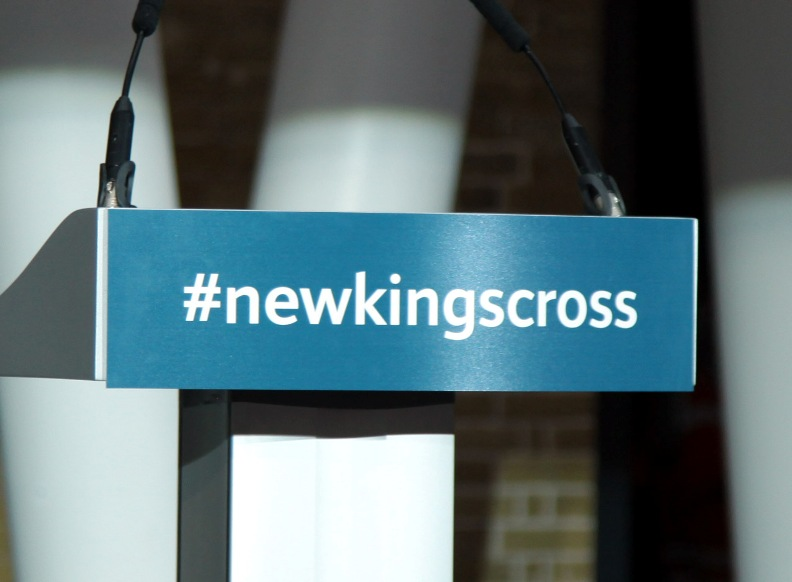 Kings Cross sign by Phil Marsh