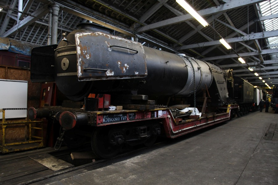 Flying scotsman boiler Phil Marsh