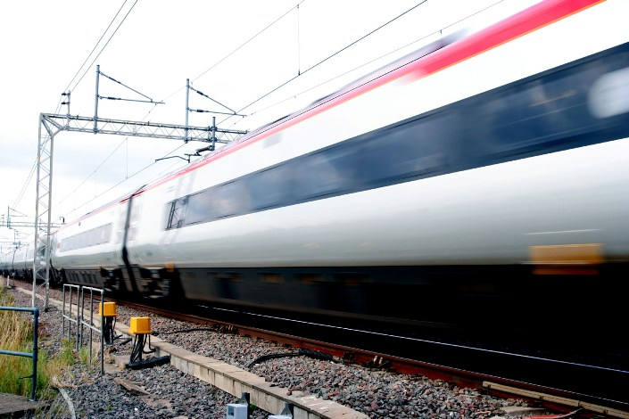 Pendolino at speed by Phil Marsh