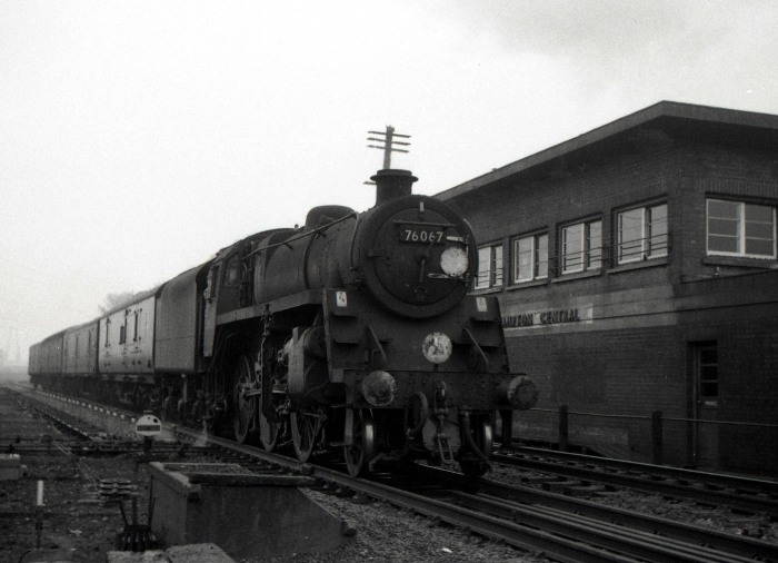 Parcels train 1966 by Geoff Marsh