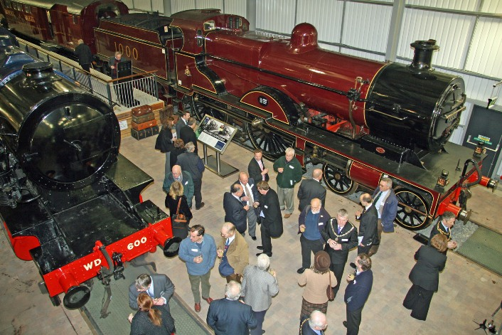 SVR engine house inside