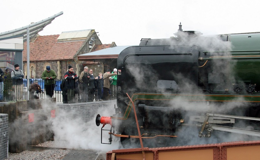 WSR Minehead turntable
