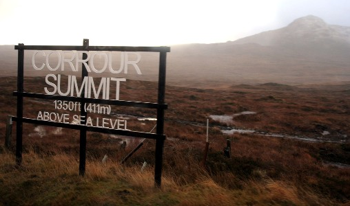 Corrour Summit by Phil Marsh