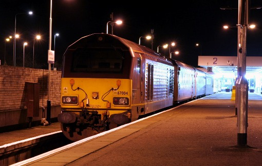 Fort William sleeper departure by Phil Marsh