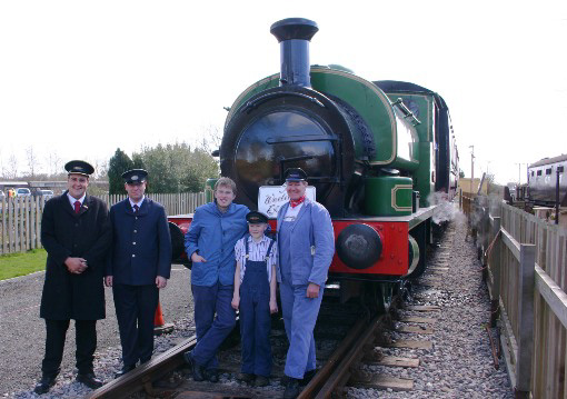 Swindon and Cricklade Railway Staff, by Phil Marsh