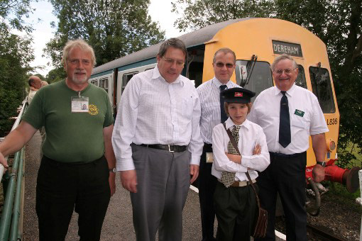 Wymondham Mid Norfolk Railway Staff, by Phil Marsh