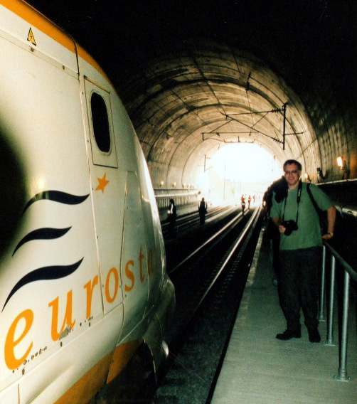 HS1 Eurostar safety approval test evacuation train, by Nick Hair