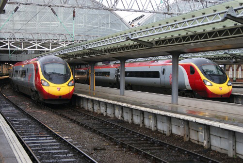 Manchester Pendolinos, by Nick Hair
