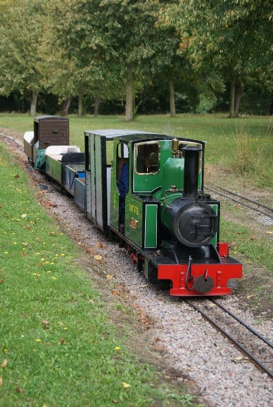 Swanley & New Barn Railway by Nicholas Hair