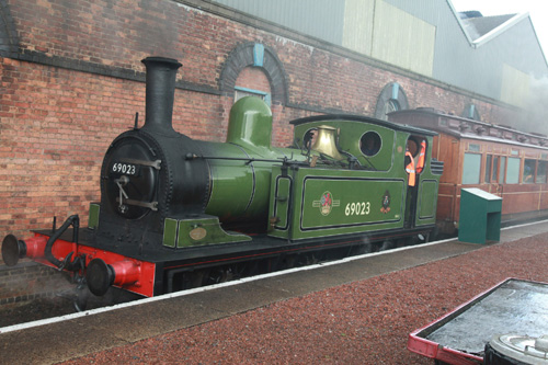 Joem at Barrow Hill by Phil Marsh