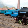 Barrow Hill Fab 4 LNER Loco Line up by Phil Marsh