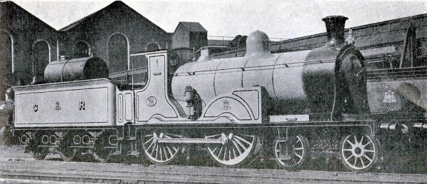 1912 caledonian railway 0 4 4 oil burner