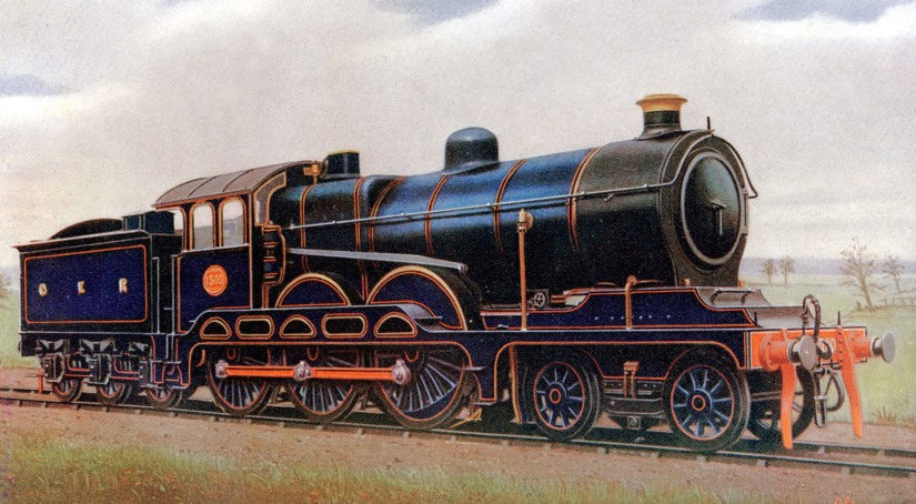1912 great eastern railway 4 6 0 No 1500