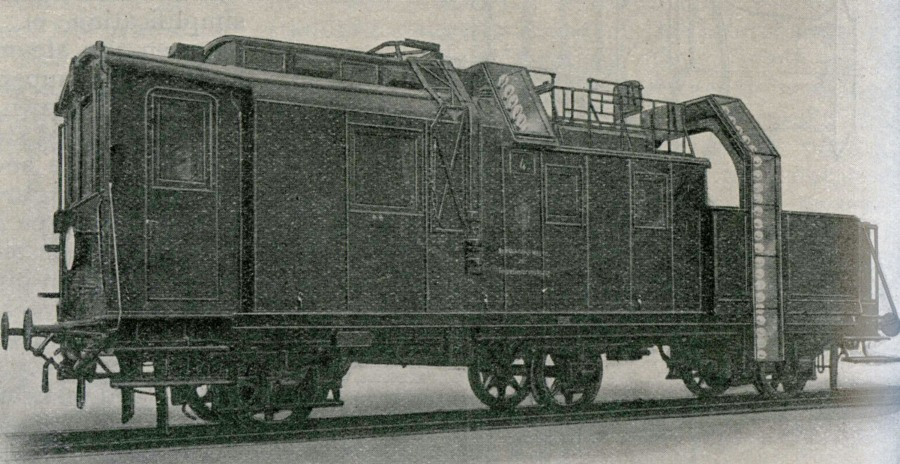 1912 russian railways tunnel inspection carriage
