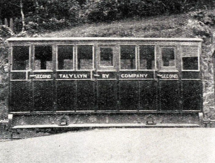 1912 tallyllyn railway carriage