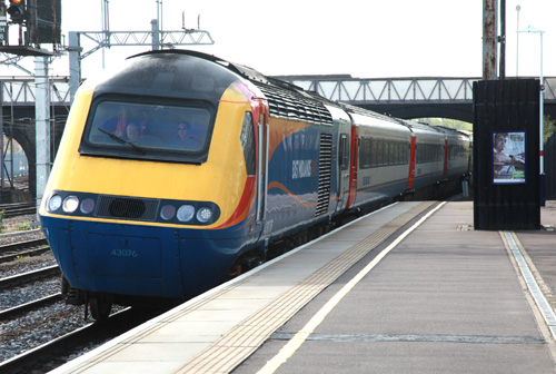 East Midlands trains HST on UK Railtours duty at Bedford by Phil Marsh