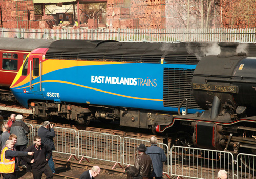 East Midlands trains HST on UK Railtours duty at Duffield by Phil Marsh
