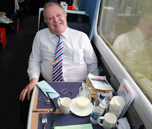 John Farrow UK Railtours proprietor by Phil Marsh