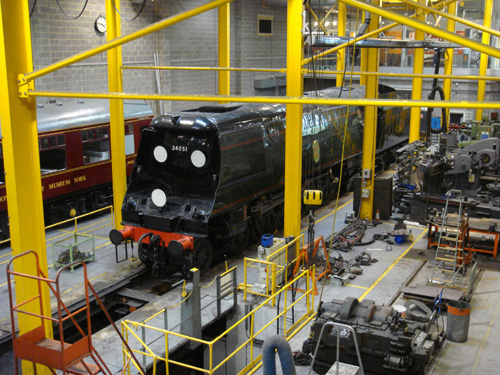 National Railway Museum workshop by Phil Marsh