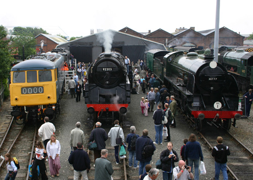 Railfest York 2004 by Phil Marsh