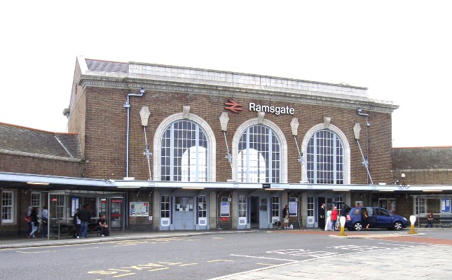 ramsgate station by by Phil Marsh