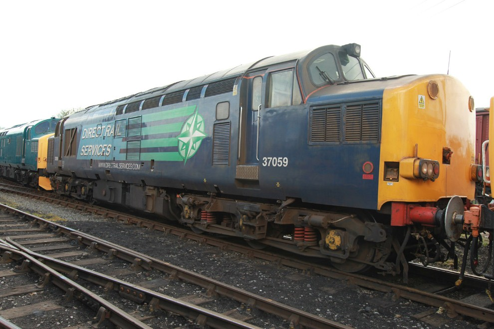 37059 at Barrow Hill by Phil Marsh