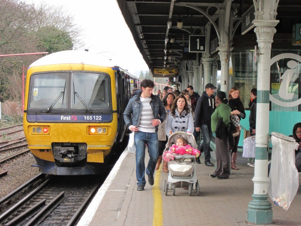 Redhill Passengers by Phil Marsh